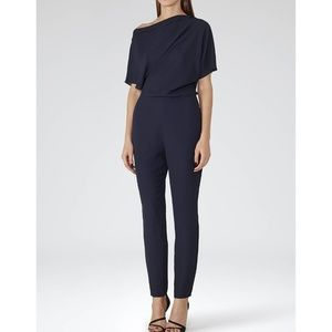 REISS Jayne Jumpsuit US 8 UK 12